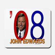 John Edwards '08 Signature Mousepad