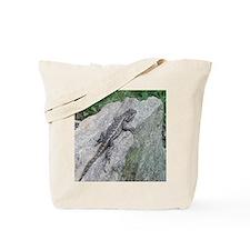 Fence Lizard Tote Bag