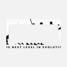 evolution karate License Plate Holder
