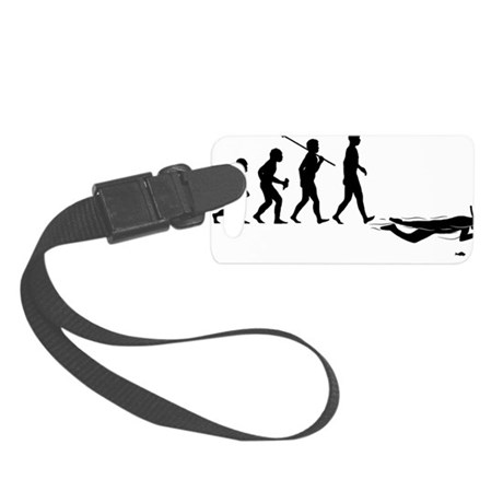 Snorkelling Small Luggage Tag