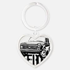 Lada Niva off-road Heart Keychain