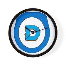 Democrat Doo Doo Economics Wall Clock