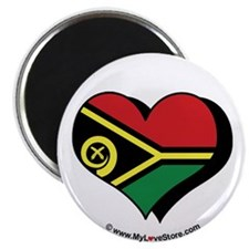 "I Love Vanuatu 2.25"" Magnet (100 pack)"