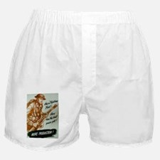 HES A FIGHTING FOOL Boxer Shorts