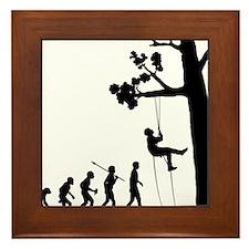Tree-Climbing Framed Tile