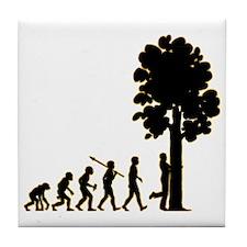 Tree-Hugger3 Tile Coaster