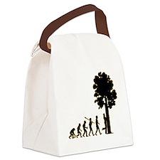 Tree-Hugger3 Canvas Lunch Bag