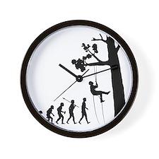 Tree-Climbing2 Wall Clock