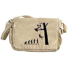 Tree-Climbing2 Messenger Bag