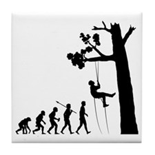 Tree-Climbing2 Tile Coaster