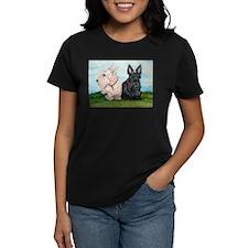 Scottish Terrier Companions Tee
