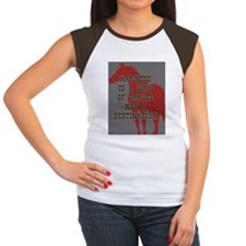 Happiness Quote Women's Cap Sleeve T-Shirt