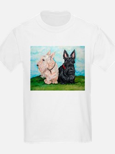 Scottish Terrier Companions T-Shirt