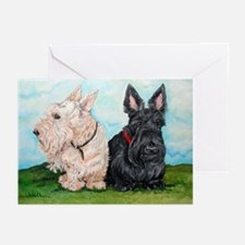 Scottish Terrier Compani Greeting Cards (Pk of 10)
