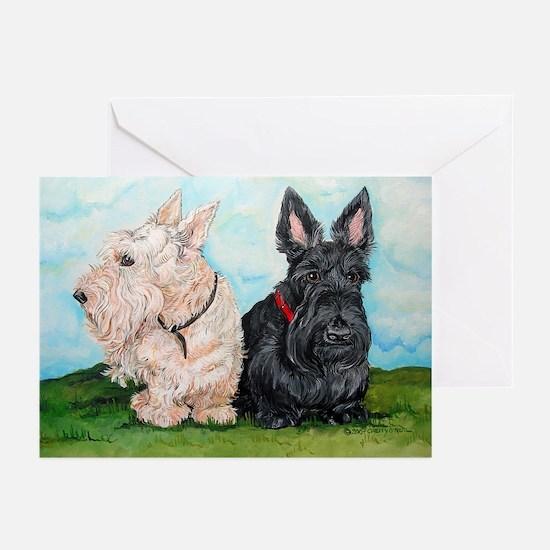 Scottish Terrier Compani Greeting Cards (Pk of 10)