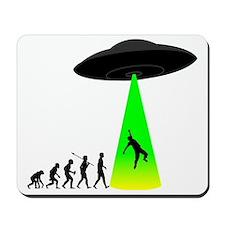 Alien-Abduction Mousepad
