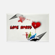 Love really hurts Rectangle Magnet