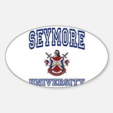 SEYMORE University Oval Decal