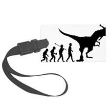 Eaten-By-Dinosaur Luggage Tag