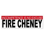 Fire Cheney (bumper sticker)