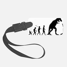 Run-From-Dinosaur Luggage Tag