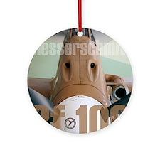 Bf 109 Round Ornament
