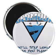 Bermuda Triangle B - light Magnet