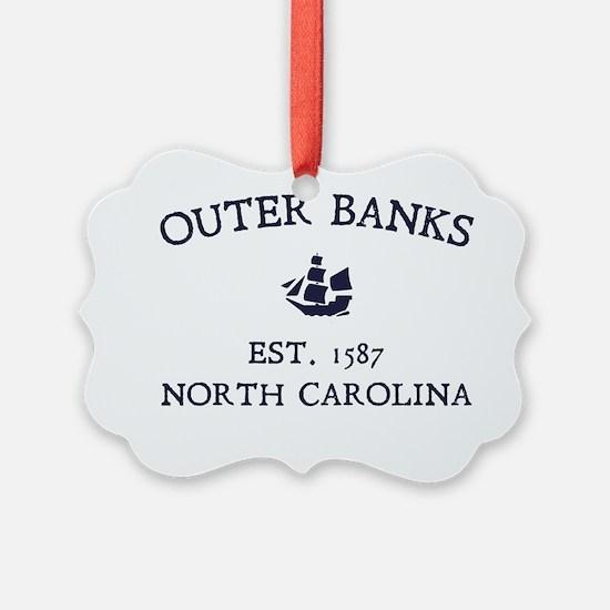 Outer Banks Established 1587 Ornament
