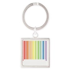 Certified Square Keychain