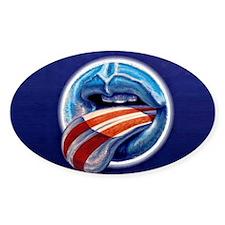 Oblahma Obama Logo Decal