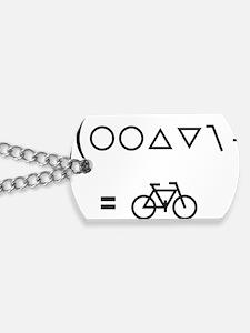 BikeMaths Dog Tags