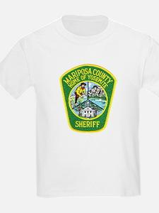 Mariposa Sheriff Kids T-Shirt