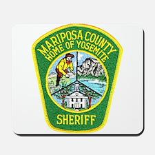 Mariposa Sheriff Mousepad