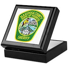Mariposa Sheriff Keepsake Box