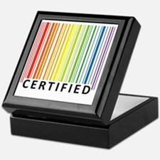 Certified Keepsake Box