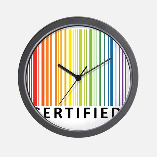 Certified Wall Clock