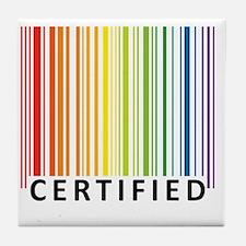 Certified Tile Coaster