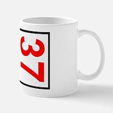 37 Autocross Number Plates Mug