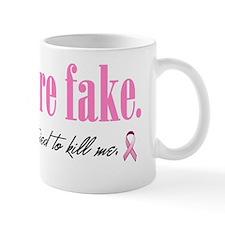 Yes theyre fake Mug