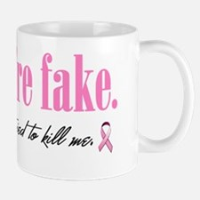 Yes theyre fake Mug