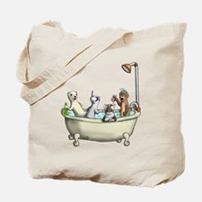 Rub a Dub Tub Tote Bag