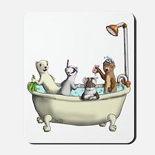 Rub a Dub Tub Mousepad