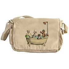 Rub a Dub Tub Messenger Bag
