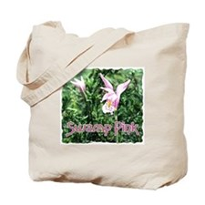 Swamp Pink Tote Bag