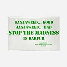 DARFUR AWARENESS Rectangle Magnet