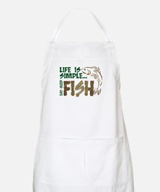 Life Is Simple...FISH BBQ Apron