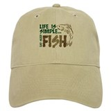 Fishing Baseball Cap