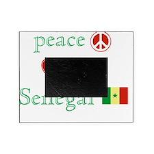 Peace Love Senegal Picture Frame