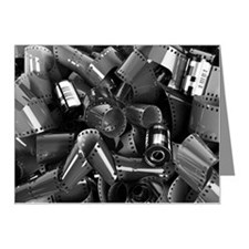 Pile of 35mm photographic fi Note Cards (Pk of 20)