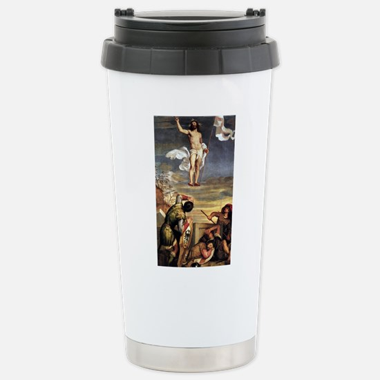 The Resurrection - Titian - c1542 Mugs